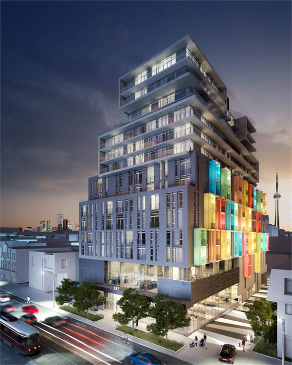 The College Condominium at Spadina photo 1